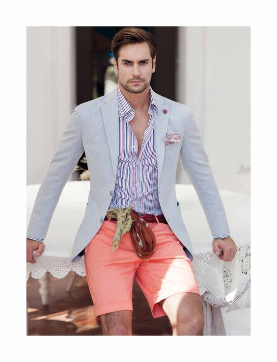 How to wear salmon color | Color Coordination - Men's Fashion ...