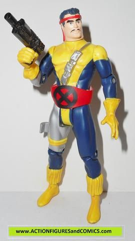 X-MEN X-Force toy biz FORGE cloth belt strike force action figures
