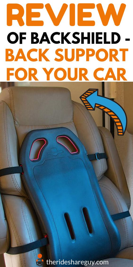 Best Lumbar Support For Car An Uber Driver Reviews The Backshield