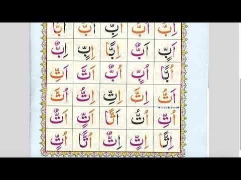 Arabic Alphabets Noorani Qaida Lesson 14 Tashdeed Shaddah Emphasis Arabic Alphabet Word Cards Alphabet