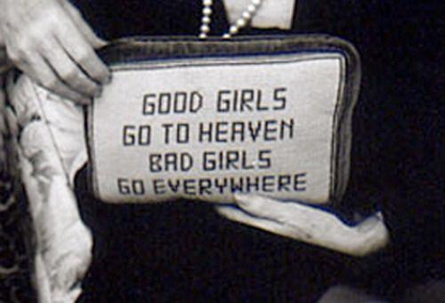 Good girls.