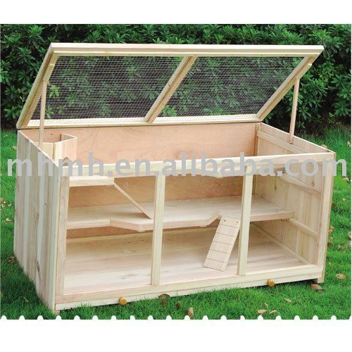 Hamster cages brand new and buns on pinterest for How to build a guinea pig cage out of wood