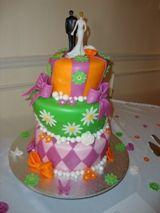 Not your average wedding cake