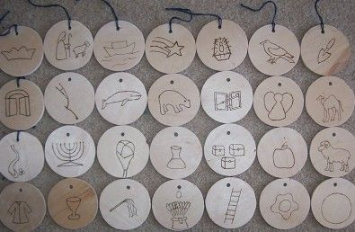 Wooden ornaments. (To give you an idea though). Maybe do some woodburning?