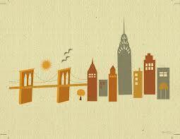 brooklyn bridge skyline drawing - Google Search