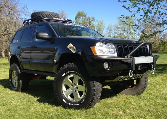 Lifted 2005 Jeep Grand Cherokee Pictures Jba Jeep Grand