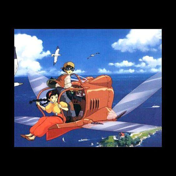 Ho visto centinaia di volte tutti i film ghibli stasera per la prima volta ho avuto la possibilità di guardarne uno al cinema grazie ad una rassegna particolare  un'esperienza unica  grandissima emozione e brividi. #laputa #laputacastleinthesky #hayaomiyazaki #StudioGhibli by mr_tsukimoto