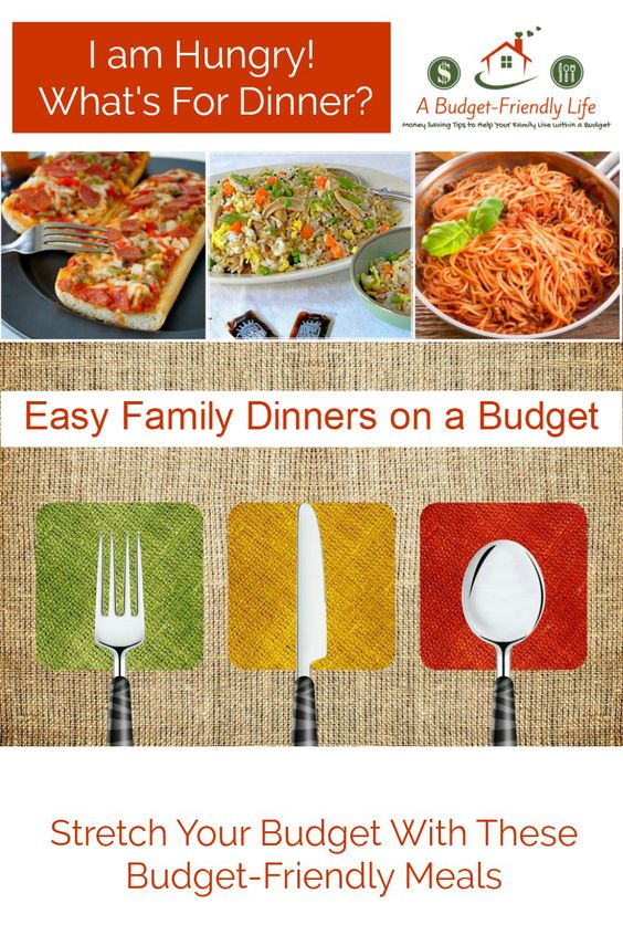Easy Budget Friendly Spring Decorating: Easy Family Dinners On A Budget