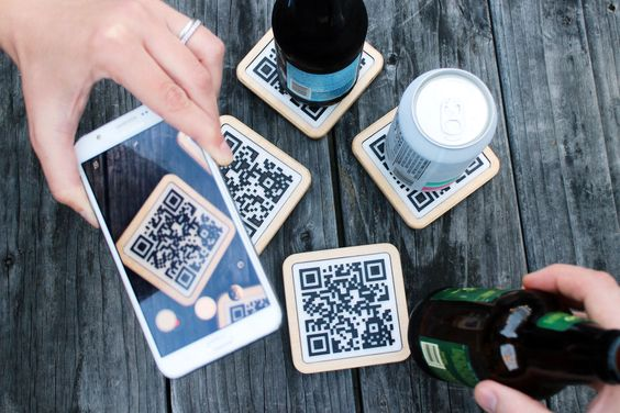 Picture of QR Coasters
