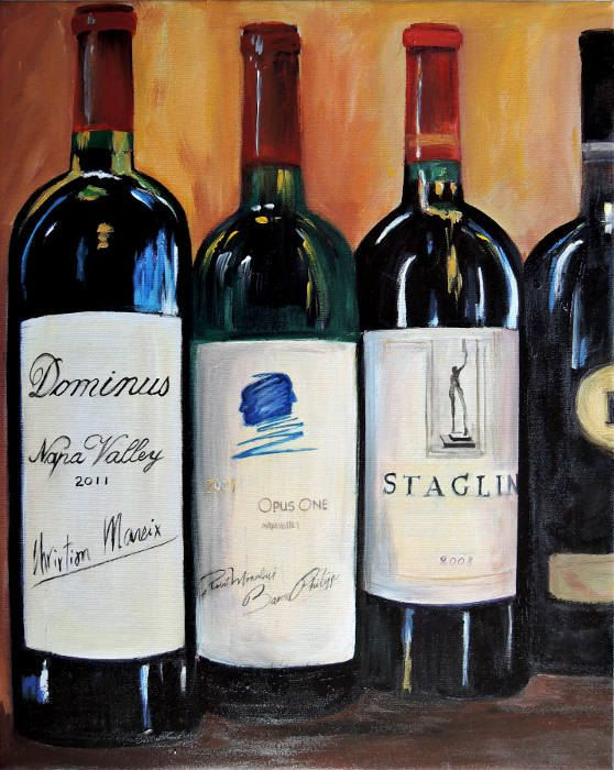 Bottle painting, Kitchen art and Gifts for brothers on ...