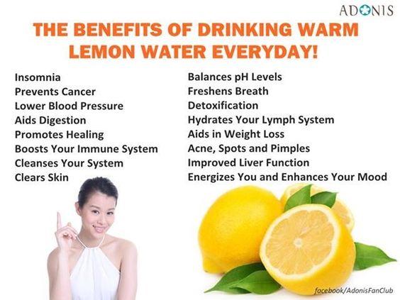 Lemon water benefits 58021