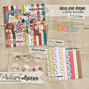 Chase Your Dreams Value Bundle  by  Bella Gypsy @ The Digi Chick