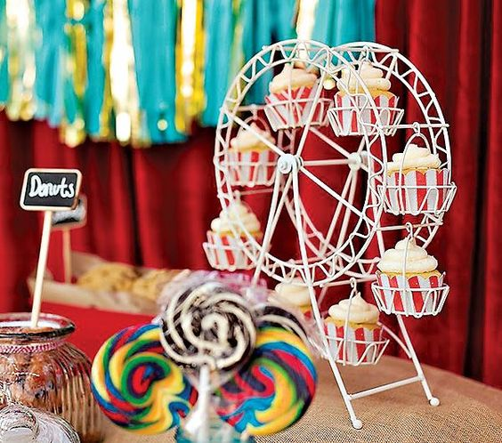 carnival themed wedding reception | Carnival Wedding Theme: