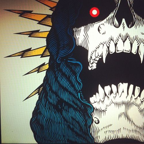 Ink, scan, color. by ryanbegley (Via @andreirobu)...