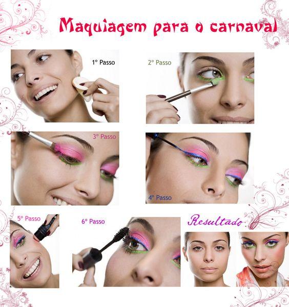 Make Etc's: Inspirações de Makes - Carnaval