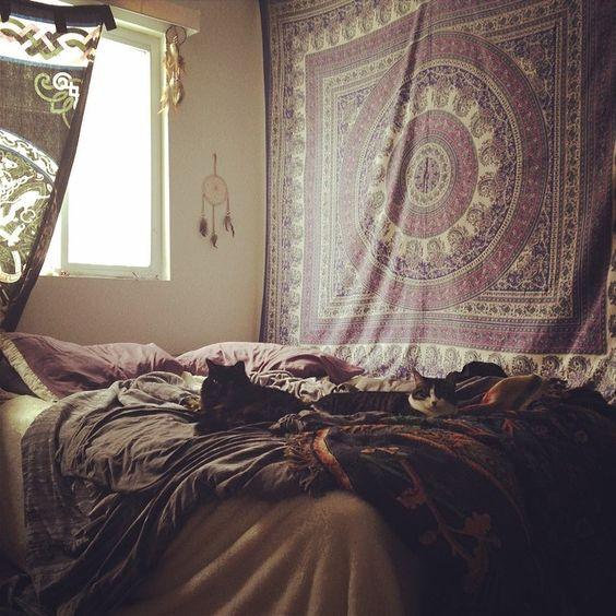 Tapestry sleep Pinterest