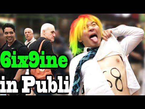 6ix9ine Tekashi69 Gummo Singing In Public Youtube