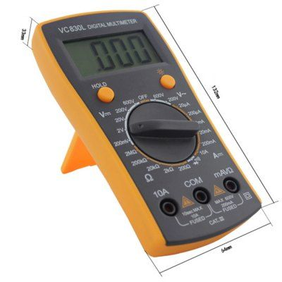 $8.13 (Buy here: http://appdeal.ru/c4uc ) BEST VC830L LCD Digital Multimeter for just $8.13