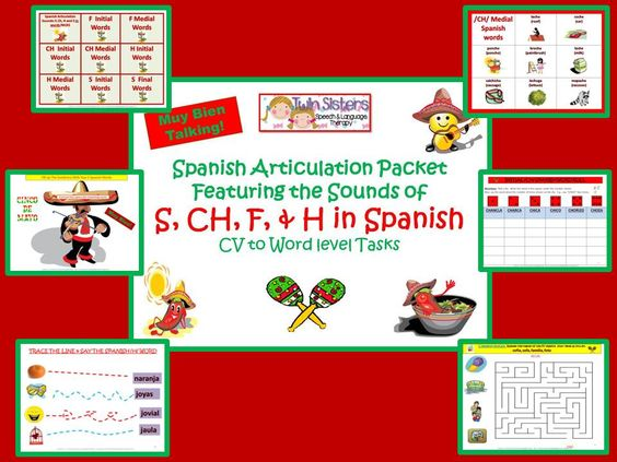 sound free  speech language therapy and spanish on pinterest