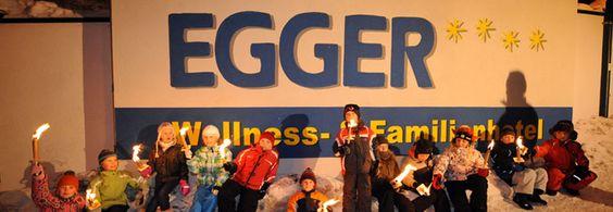 Das Kinderhotel und Familienhotel Egger als Spezialist für Ferien, Familienurlaub, Urlaub mit Kindern und Familienreisen. www.hotel-egger.at