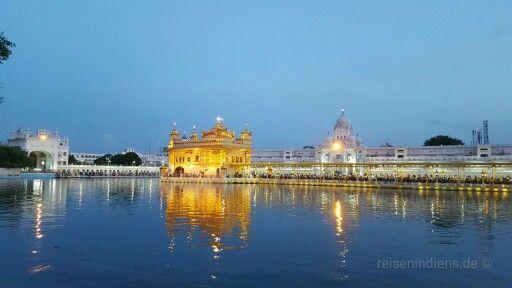 Golden Tempel bei Abendstimmuung