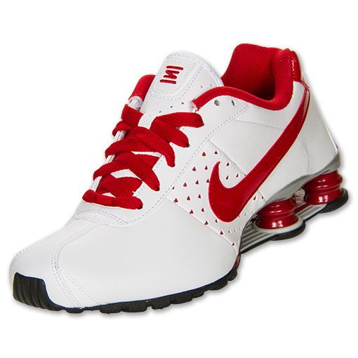 Women?s Nike Shox Classic II SI Running Shoes | FinishLine.com | White/Varsity  Red/Metallic Silver | Clothes:) | Pinterest | Nike shox, Running shoes and  ...