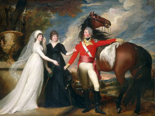 """""""Colonel William Fitch and His Sisters Sarah and Ann Fitch"""", John Singleton Copley, ca. 1800; NGA 1960.4.1:"""