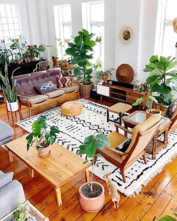 How To Create A Scandinavian Bohemian Living Room The Mood Palette Bohemian Chic Living Room Chic Living Room Eclectic Interior #neutral #bohemian #living #room
