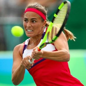 Who is Monica Puig the Puerto Rico player who won the gold medal Rio 2016 Olympic Games women's tennis final? (Rio 2016)