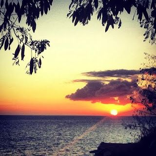 Sunsets like this one every day! Loving Puerto Rico ! Surfing Rincon :) Surf la Isla del Encanto