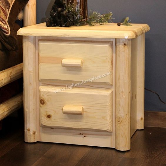 Northwoods 2 Drawer Nightstand