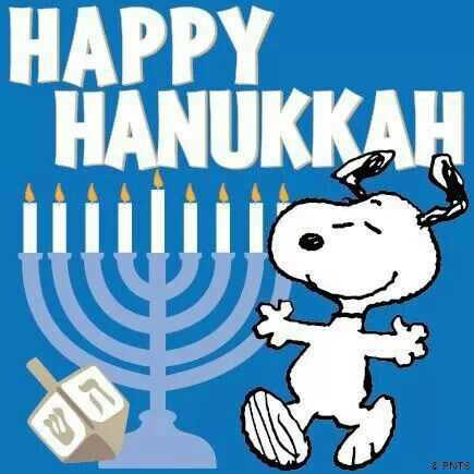 Image result for Snoopy Hanukkah