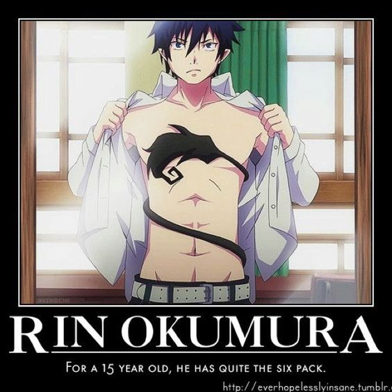 Ao no Exorcist | Blue Exorcist | Rin & Yukio Okumura | Anime | Meme | Screenshot | SailorMeowMeow