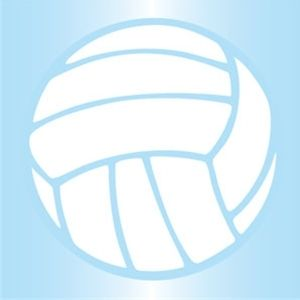 Volleyball Static Cling