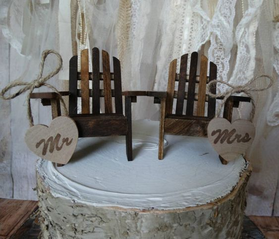 Adirondack beach wedding chairsAdirondack by MorganTheCreator, $39.00