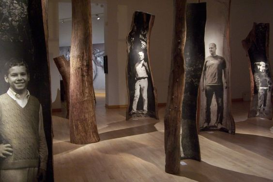 Emilie Brzezinski (Tch. 1932- ), Family Tree, installation