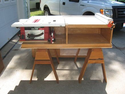 Table Saw Extension Woodworking Pinterest Projects Tables And Table Saw