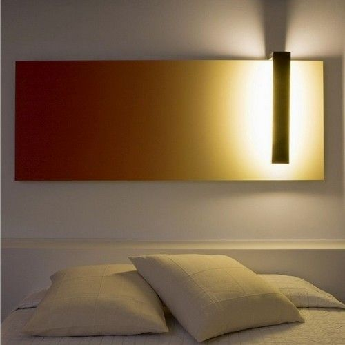 21 Interior Designs With Fluorescent Light Covers Interiorforlife Com Fluorescent Wall Lamp Hidden By A Col Wall Lamp Design Fluorescent Light Covers Wall Lamp