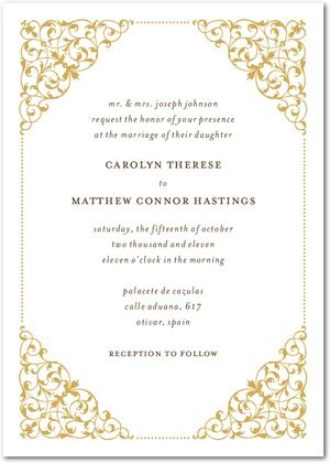 invitation option