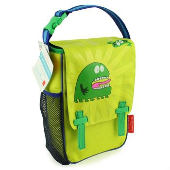 Goodbyn lunch pack with cute (not scary) monster cute for #PaperMateBTS