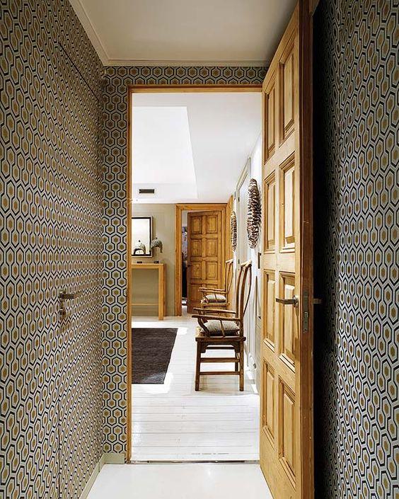 david hicks hexagones and papiers peints on pinterest. Black Bedroom Furniture Sets. Home Design Ideas