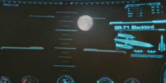 Blackbird reference in Iron Man 1 movie