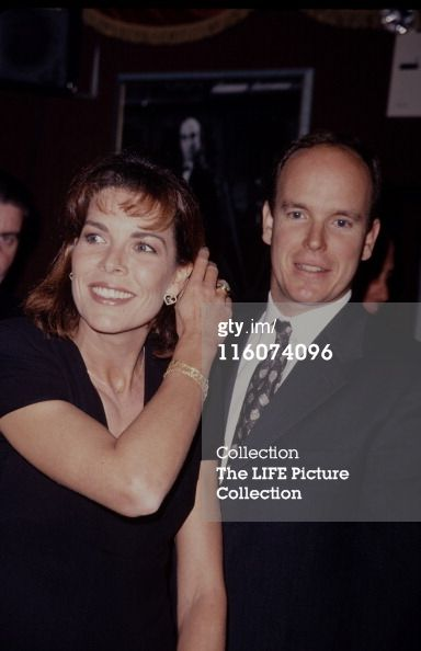 Photo d'actualité : Princess Caroline of Monaco with her brother...