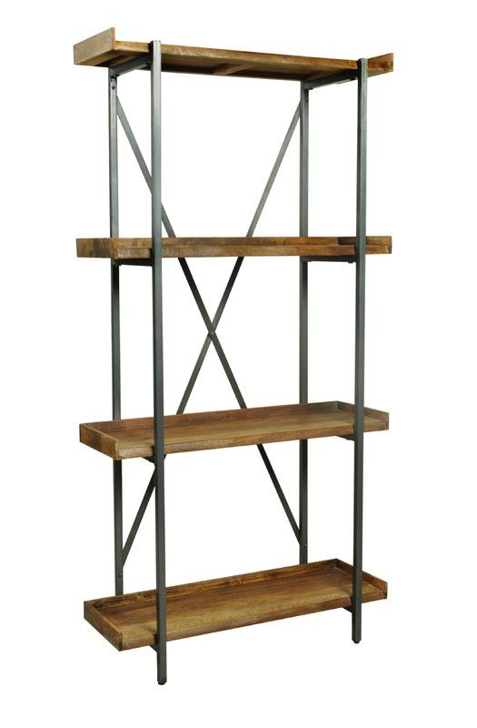 Kaliyah Bookcase With Images Bookcase Etagere Bookcase 4