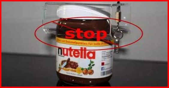 Awesome Say No To Nutella, It Is Poisoning You And Your Children