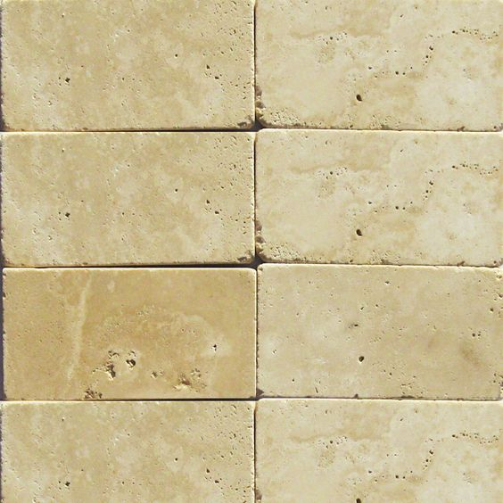mexican travertine crema imperial in a herringbone