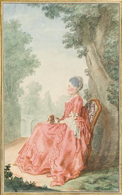 Réunion des Musées Nationaux-Grand Palais - Madame de Feuillant Carmontelle (dit), Carrogis Louis (1717-1806)