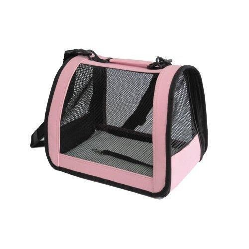 Step Inside This Personality Packed Home In Hampshire: Pink Medium Pet Carrier Dog Cat Bag Tote Purse Handbag 3P
