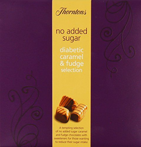 Thorntons No Added Sugar Diabetic Caramel and Fudge Selection 165 g Thorntons http://www.amazon.co.uk/dp/B00EV48LGQ/ref=cm_sw_r_pi_dp_D79kvb0EHQY8G