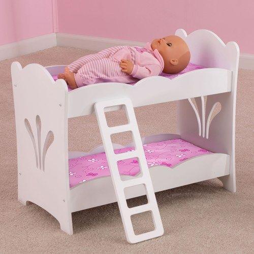 Kidkraft Doll Bunk Bed Doll Bunk Beds Wooden Bunk Beds Bunk Beds